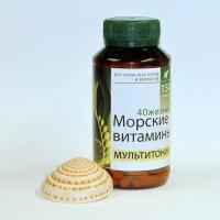 Мультитоник Морские витамины 40 жизней (150 капсул)