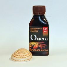 Крабовое масло ОМЕГА  высокой очистки (100 мл.)